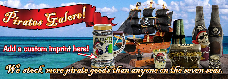We stock hundreds of the best pirate souvenirs and gifts on the market.